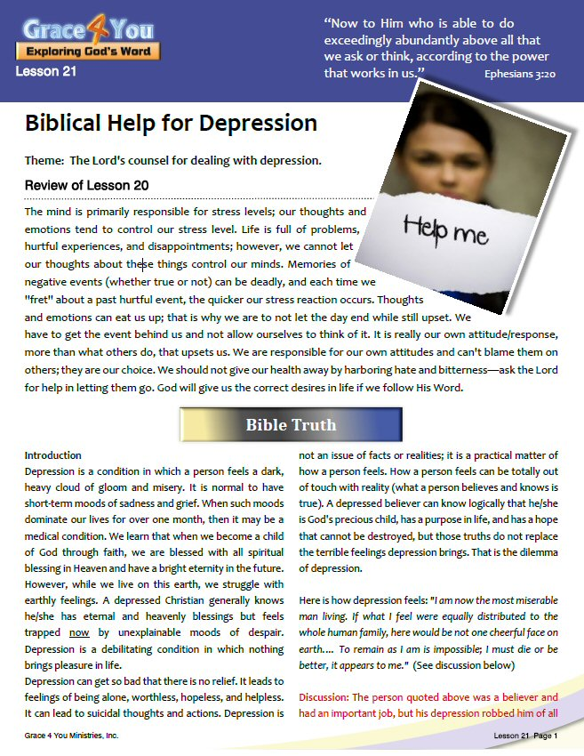Research Papers On Depression