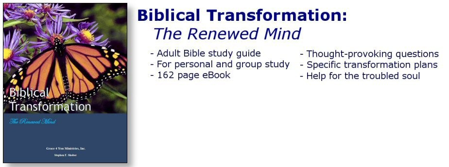 eBook: Be transformed through Christ...